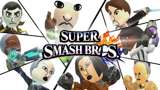 A made a Smash 4 Funny Moments video with a character reveal trailer for several celebrity Mii characters. How does the trailer look? (Trailer starts at 1:14)