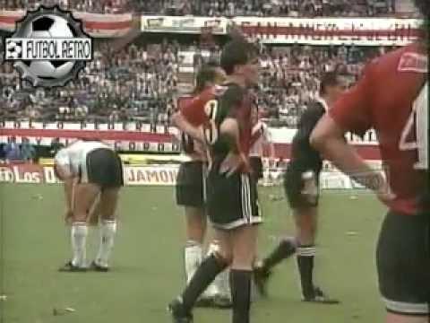 River Plate 0 vs Newells 5 Clausura 1992 Castrilli expulsa 4 jugadores de River FUTBOL RETRO TV