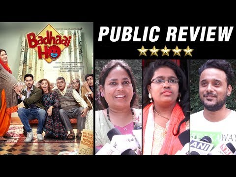 Badhaai Ho PUBLIC REVIEW | Ayushmann Khurrana | Sa