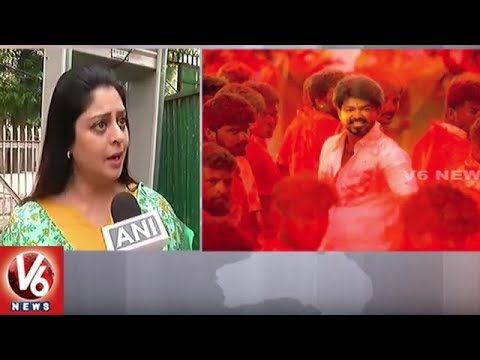 Actress Nagma Reacts To Mersal Movie Controversy