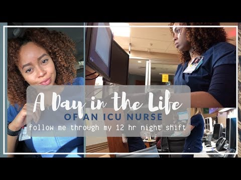 A Day In The Life Of An ICU Nurse | Come To Work With Me | 12 HOUR NIGHT SHIFT