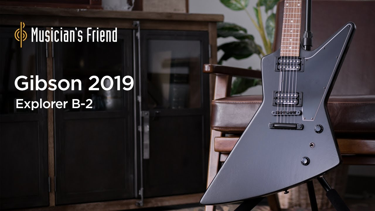 Gibson 2019 Explorer B-2 Electric Guitar Demo