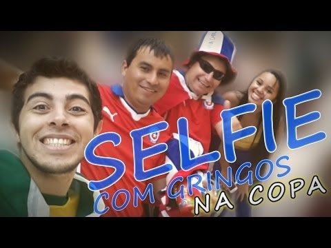 SELFIE COM GRINGOS (Selfie With Strangers at World Cup)