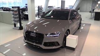 Audi RS7 2015 In Depth Review Interior Exterior