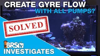 BRStv Investigates: Can any pump create a Gyre in a reef tank, or is Maxspect still king?