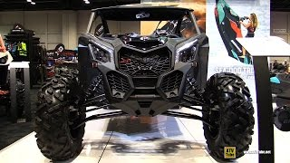 6. 2017 Can Am Maverick X3 X ds Turbo R 900 Side by Side ATV - Walkaround - 2016 AIMExpo Orlando
