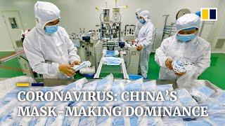 Video: Čína balí roušky