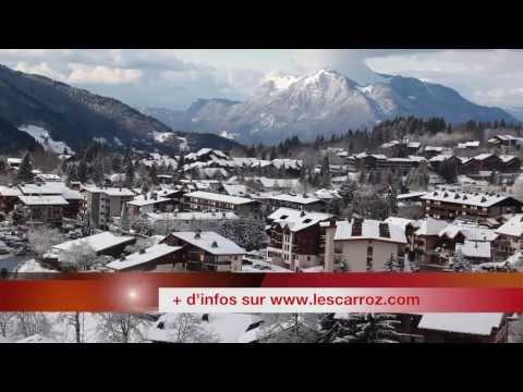 Présentation générale de la station de ski des Carroz