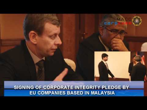 EU Supports MACC Corporate Integrity Pledge Initiative