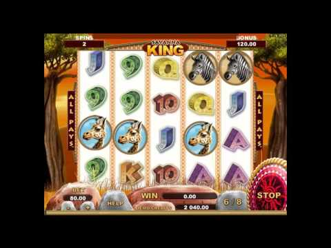 Savanna King™ Slot Machine Live Gameplay Demo