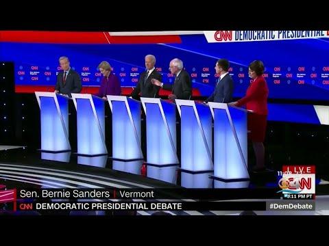 Dems Battle In Final Debate Before Iowa Caucuses