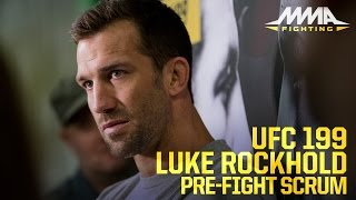 UFC 199: Luke Rockhold Wants to Make SportsCenter With Michael Bisping Win by MMA Fighting