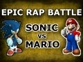SONIC VS MARIO - LYRICS - EPIC RAP BATTLE