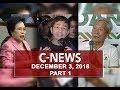News (December 3, 2018) PART 1