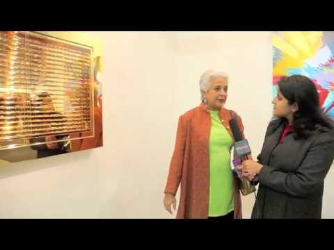 Hooked to art at India Art Fair 2012