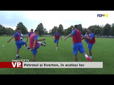 Petrolul și Everton, în același loc