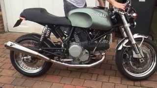 7. Norton Commando 961 vs Ducati Sport Classic GT1000 Open exh