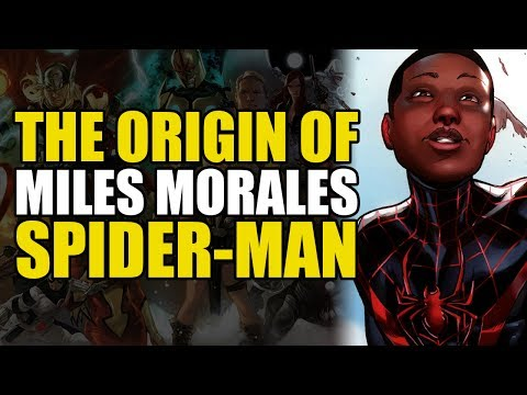 The Origin of Miles Morales Spider-Man (Ultimate Spider-Man)