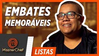 5 EMBATES MEMORÁVEIS | LISTAS MASTERCHEF