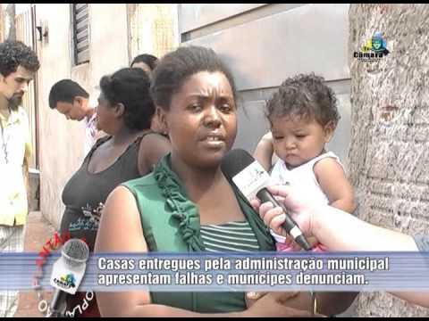 Moradores reclamam das casas no Recanto dos Pássaros II em Ourinhos