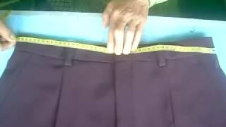 Video Cara Mudah Mengukur Celana - easy way to measure pants (DIY) MP3, 3GP, MP4, WEBM, AVI, FLV Desember 2018