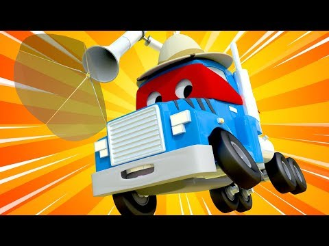 Dzień Lwa - Zwierzęcy Detektyw - Carl Super Ciężarówka - Miasto Samochodówdów