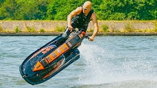 7. Jetski Yamaha Superjet . Old school tricks & fun Part 3