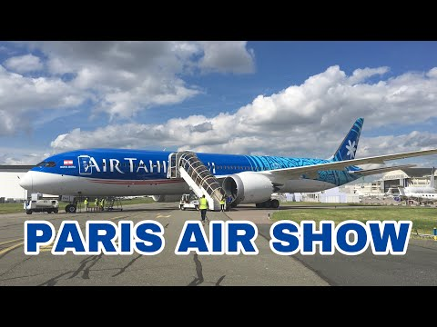 Paris Air Show 2019 | Static Display Highligh  | A350, A400M, B787, B737 CargoEmbraer,