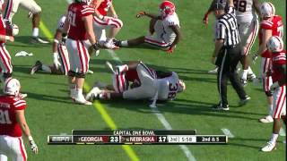 Shawn Williams vs Nebraska (2012 Bowl)