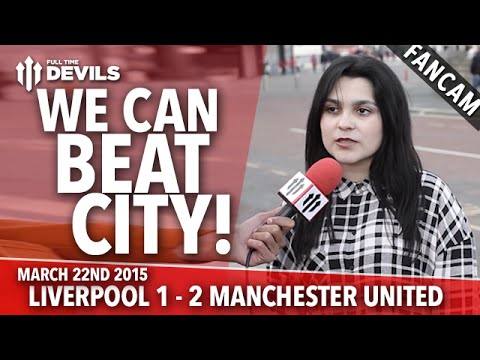We Can Beat City! | Liverpool 1 Manchester United 2 | FANCAM