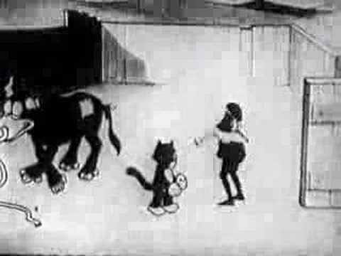 #RTVTOROS Walt Disney - 1925 - Alice the Toreador