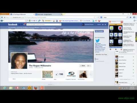 How To Use Social Media Bar To Share Content (Tutorital)