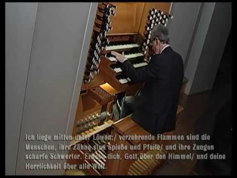Kay Johannsen spielt eine Orgel-Improvisation über Psalm 57