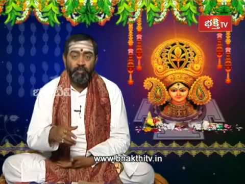 Devi Navaratri Vaibhavam Special Pravachanam by Shanmukha Sarma_Part 1