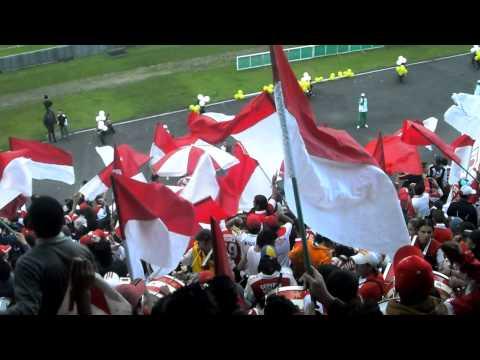Todos los domingos llega al Nemesio - La Guardia Albi Roja Sur - Independiente Santa Fe