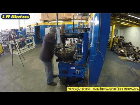 LR Motos  - Alinhamento e Balanceamento da Roda Dianteira da Yamaha Fazer 600