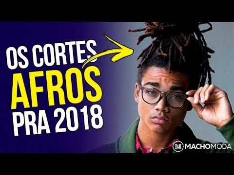 Corte de cabelo -  Cortes de Cabelo Masculino AFRO para 2018 - 5 Tendências em Corte Crespo Masculino