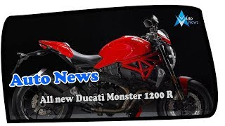 6. WOW AMAZING!!!All new Ducati Monster 1200 R new model perfect 2018 Price & Spec