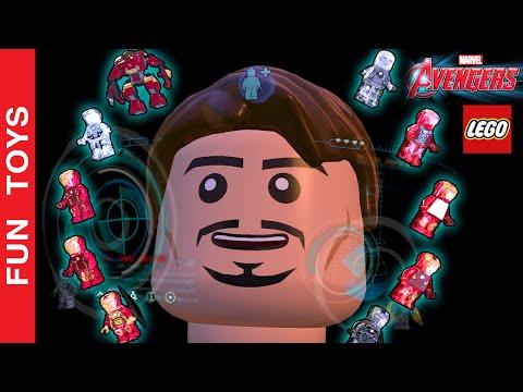 TODAS as Armaduras do HOMEM DE FERRO do jogo LEGO Marvel's Vingadores Poderes e Animações de Entrada:  Neste vídeo mostramos todas as armaduras do Homem de Ferro do Jogo LEGO Marvel's Avengers. Mostramos os poderes de cada armadura e animação de entrada de cada uma, algumas são muito engraçadas e divertidas!Mostramos todas inclusive a Hulk Buster e a MK40 que tem super velocidade… Até apostamos uma corrida entre ela e o Mercúrio!!! Quem será que vai ganhar? Assista o vídeo e descubra!!! Também fizemos uma luta entre Hulk Buster e Hulk!!!Compre Brinquedos Lego dos Vingadores: http://bit.ly/Lego_Avengers Mostramos a MK1 que foi a primeira armadura, a MK5 que vem em uma maleta, a MK6 que mostra o mecanismo da torre dos Avengers que monta e desmonta a armadura em Tony Stark. Também a MK7, a MK16 que fica invisível e toca música atrapalhando os inimigos, a MK17 HeartBreaker, que solta raio pelo peito, a MK25 que escava o chão, a MK33 o Tony entra pela frente dela. A MK40 tem super velocidad, a MK42 as partes vem separadas e voando. A MK43 e MK45 tem a mesma animação da MK7, mas o design é diferente. A SUPERIOR, é toda cromada e os tiros rebatem nela. Tem até a Pepper Potts vestida de MK42!!! Mostramos a HulkBuster e fizemos uma luta entre o Hulk e a HulkBuster!!! Quem será que vai ganhar??? Assista o vídeo completo e descubraEm um outro vídeo fizemos, com LEGO de verdade, a montagem e estorinha com a HulkBuster e Hulk! Assista porque está MUITO divertido:http://www.ascendents.net/?v=TxmEbJvIyuk&list=PL2edokDcUWHLRrau5wZfxiP5gZjU7EHhAComente abaixo QUAL a armadura que você achou mais irada!!!Não se esqueça de dar um JOINHA no vídeo, MOSTRAR este vídeo para seus amigos e parentes e de se INSCREVER no canal clicando neste link: http://www.youtube.com/funtoysbrinquedosvideos/videos?sub_confirmation=1SIGA-NOS / FOLLOW US: 😀 😅 😉 😍 😗 😜 😎✦Subscribe: http://www.youtube.com/channel/UCVOq9DX3BL9bBU9FrG5MpMA?sub_confirmation=1✦Twitter: http://twitter.com/FunToysBrinque✦Google+: http