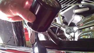 8. Motorcycle Repair: Changing the Engine Oil and Oil Filter on a 2008 Harley Davidson Road Glide