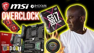 MSI X299 Gaming M7 ACK Motherboard 7820X 5Ghz Overclock & Benchmarks. Yes we have overclocked the MSI X299 Gaming M7 ACK Motherboard using the  Intel Core i7-7820X and the ID Cooling Aura flow RGB 240mm AIO. See how we got to 5Ghz above. If you liked this video then why not check out our overclocking playlist below: https://www.youtube.com/playlist?list=PLQ_8_yVZSSGVZFebqfiIxVnZLAL_RYWuP 💸 Use our Overclockers UK affiliate link! - https://goo.gl/gEUmrR💸 Or our Amazon affiliate link! - http://amzn.to/2pbp36W👕👚 SHOP MXDOUT MERCH! 👚👕https://shop.spreadshirt.co.uk/MXDOUT/See you in the next one, thanks for watching! 😜