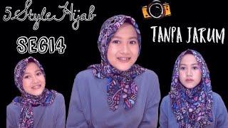 Download Lagu 5 Tutorial Hijab Tanpa Peniti dan Jarum Dengan Hijab Segi Empat #NMY Hijab Tutorials Mp3