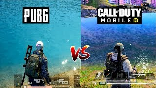 Pubg Mobile VS Call of Duty Mobile Comparison. Which one is best?
