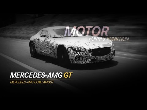 Weltpremiere: Mercedes AMG GT – Livestream