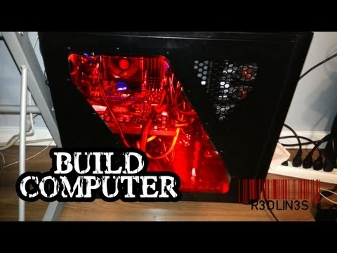 R3DLIN3S - How To Custom Build a Computer I bring you through rebuilding a computer. Installing new motherboard with processor and ram. I explain in detail how to rebui...