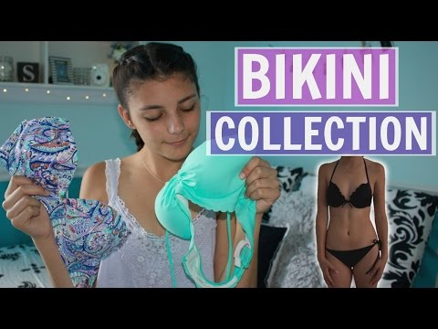 Swimsuit Collection 2016   Trying On Bikinis