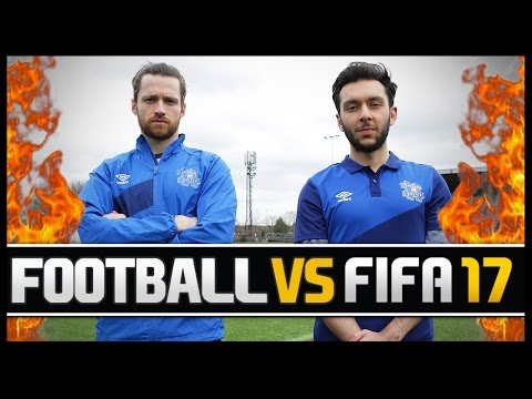 FOOTBALL VS FIFA WITH HASHTAG TASS! (PRO FIFA PLAYER)