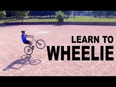 Learn to Wheelie 100 meters in 6 hours 55 minutes