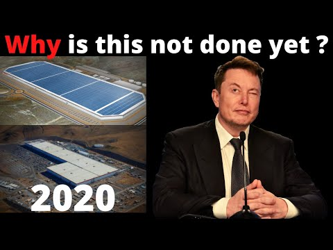 Why is Tesla's Gigafactory 1 not done yet ? | And what will they produce here when it is finished ?