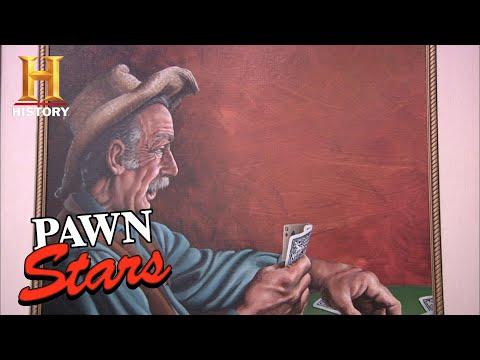 Pawn Stars: BIG MONEY for ONE-OF-A-KIND Painting (Season 8) | History
